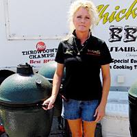 Lee Ann Whippen of Wood Chick's BBQ shares her Grilled Corn recipe. Whippen appears in 'BBQ Pitmasters' on TLC.
