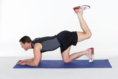 Bent-Knee Hip Extension Step 2