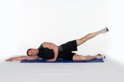 Outer Thigh Press Step 2