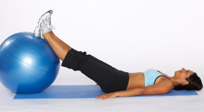 How to Do a Hamstring Curl with Stability Ball Step Five