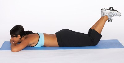 How to Do a Hamstring Curl with Dumbbell Step Three