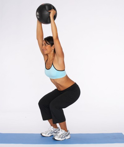 How to Do an Overhead Squat Step Two