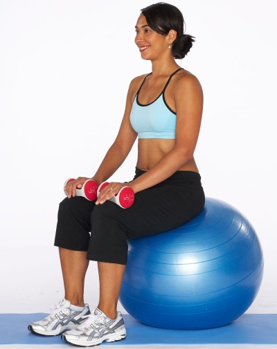 How to Do a Seated Calf Raise Step One