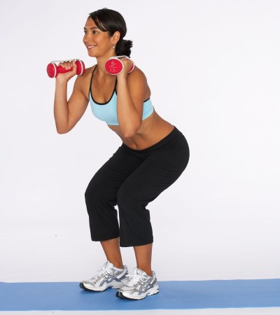 How to Do a Squat Step Two