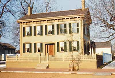Lincoln Home National Historic Site.
