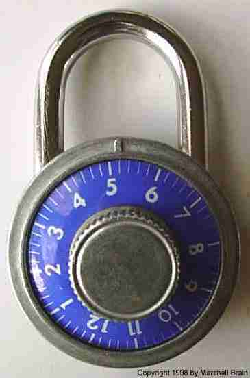 Inside A Combination Lock Howstuffworks