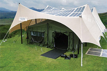 Solar Cells Everywhere Even On Your Tent Textile