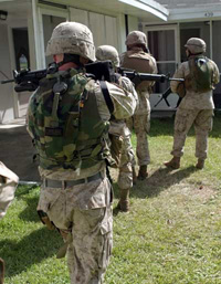 Urban warfare training