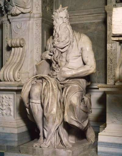 Michelangelo's Moses from the Tomb of Pope Julius II