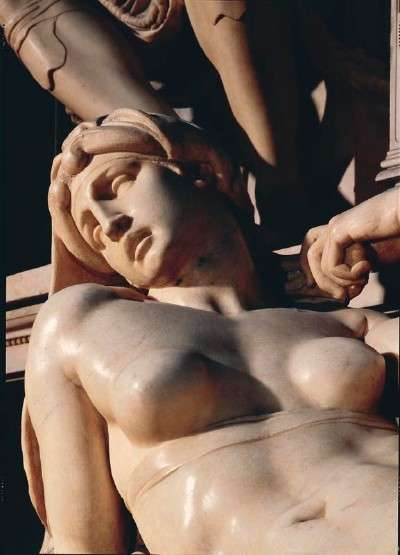 Dawn Detail from Michelangelo's Tomb of Lorenzo de' Medici