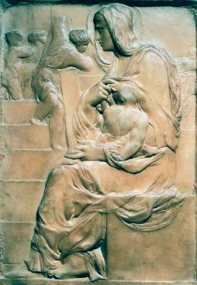 Michelangelo's Madonna of the Stairs