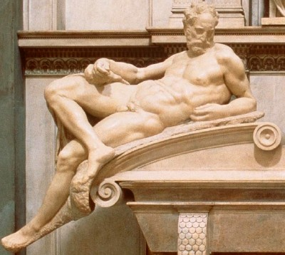 Dusk Detail, from Michelangelo's Tomb of Lorenzo de' Medici