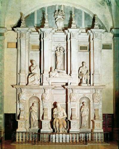 Michelangelo's Tomb of Pope Julius II