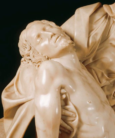 Detail from Michelangelo's Pieta