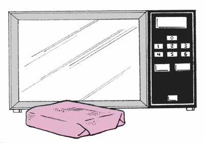 A microwave oven can be a useful cooking device.
