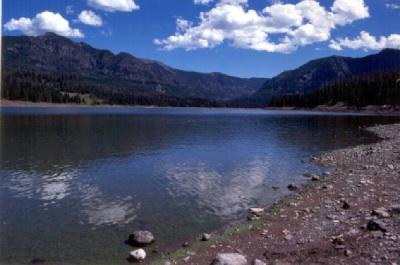 Hyalite Reservoir near Bozeman, Montana