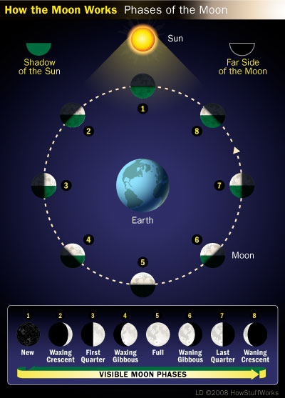 Moon Phases | HowStuffWorks