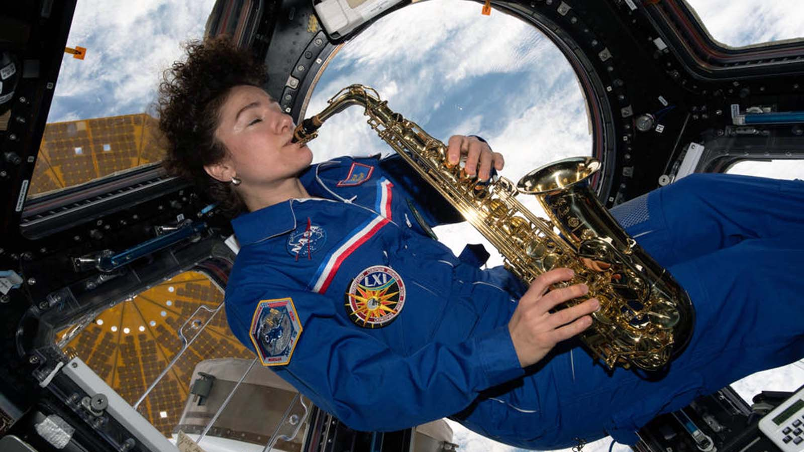 Astronauts Love to Rock it Out in Space thumbnail