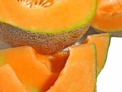 Cantaloupe is loaded with beneficial nutrients and high in fiber.