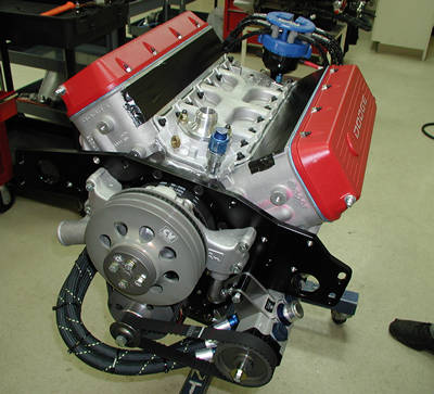 What makes NASCAR engines different from street car engines