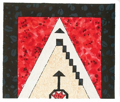 Navajo Rug Quilted Wall Hanging