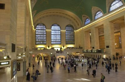 Grand Central Station is the heart of New York's transportation system.