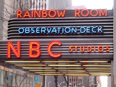You can tour the NBC Studios on Rockefeller Plaza, but but sure you make reservations in advance.