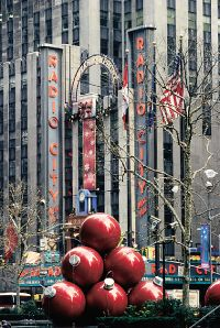 Radio City Music Hall is a popular New York destination, especially during the holiday season.