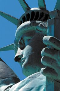 The Statue of Liberty is synonymous with New York.