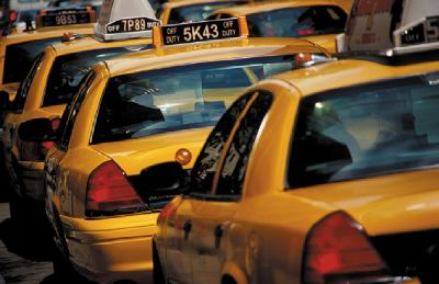 New York City taxis are plentiful and can take you wherever you need to go while visiting the city.