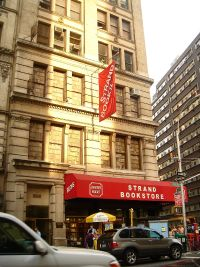 The Strand, New York's largest secondhand bookstore, claims to stock more than 2 million books.