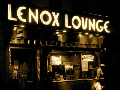 The Lenox Lounge in Harlem, an Art Deco venue, is a great place to hear jazz in New York.