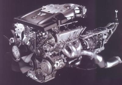 an all-aluminum, dual-overhead-cam, 3 5-liter v-