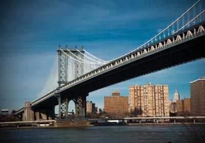 manhattan bridge over east river