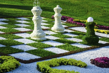 How to Make an Outdoor Chessboard