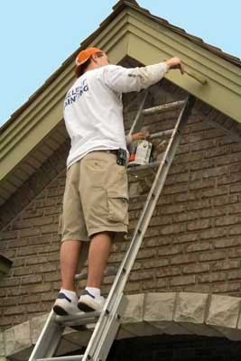 Painting exterior trim is a surefire way to make the outside of your house look new and fresh.