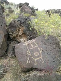 Petroglyph National Monument.