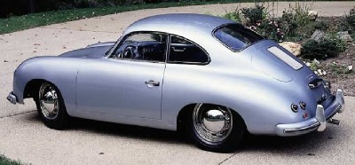 1954 Porsche 356 coupe rear view