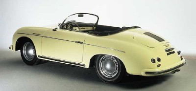 Prices for the Porsche 356A were closing in on $4,000 because of the quality of the workmanship.