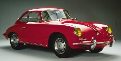 This 1963 Porsche 356B was one of the last Bs built.