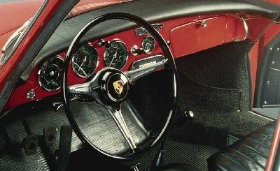 Porsche cockpits were considerably more lavish by 1963.