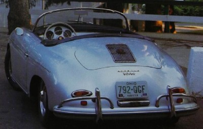 Porsche 356A Speedster rear view