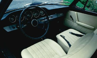 The Porsche 912 was comfortable and efficient, getting up to 30 miles per gallon.