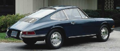 The Porsche 912 boasted the same distinctive body style as the 911.