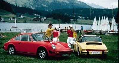 The Porsche 911 has an unparallelled legacy and legend. Pictured are a pair of 1977 German-market 911s.