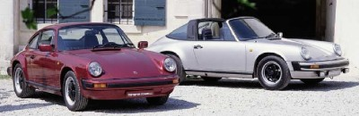 Headlamp washers and leather front seats were standard on the 1982 Porsche 911 SC.
