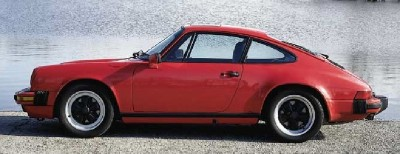 The matte-black trim on this 1986 SC was a no-cost option that enhanced the 911's classic lines.