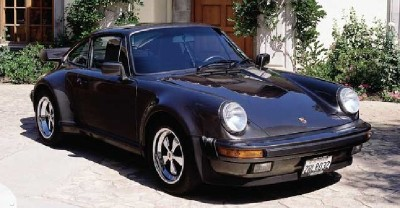 This slant-nose version of the Porsche 911 Turbo was called the 930 S.