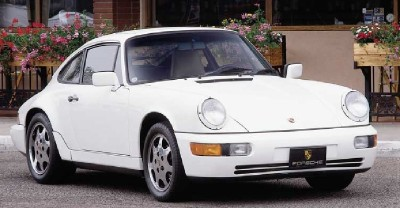 The Porsche 911 Carrera 4 featured a modernized suspension and 3.6-liter engine.