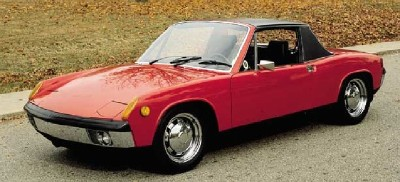 The Porsche 914/6 boasted a 110-horsepower 2.0-liter flat-six engine